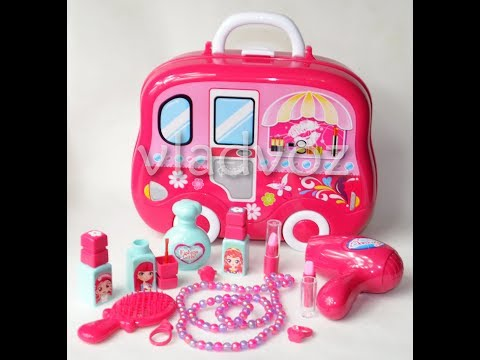 Набор детской декоративной косметики в чемоданчике Beauty Set