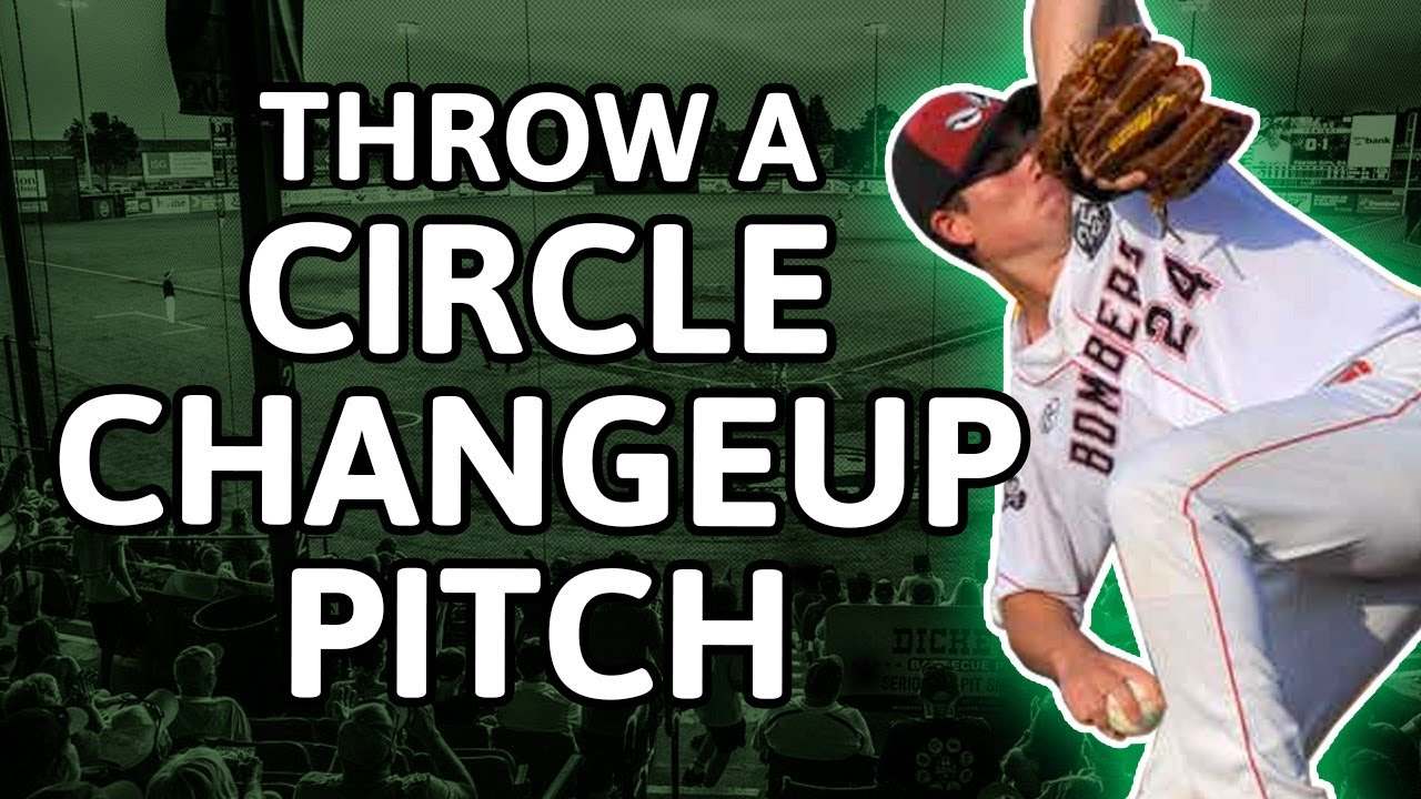 Throw a Circle Changeup Pitch
