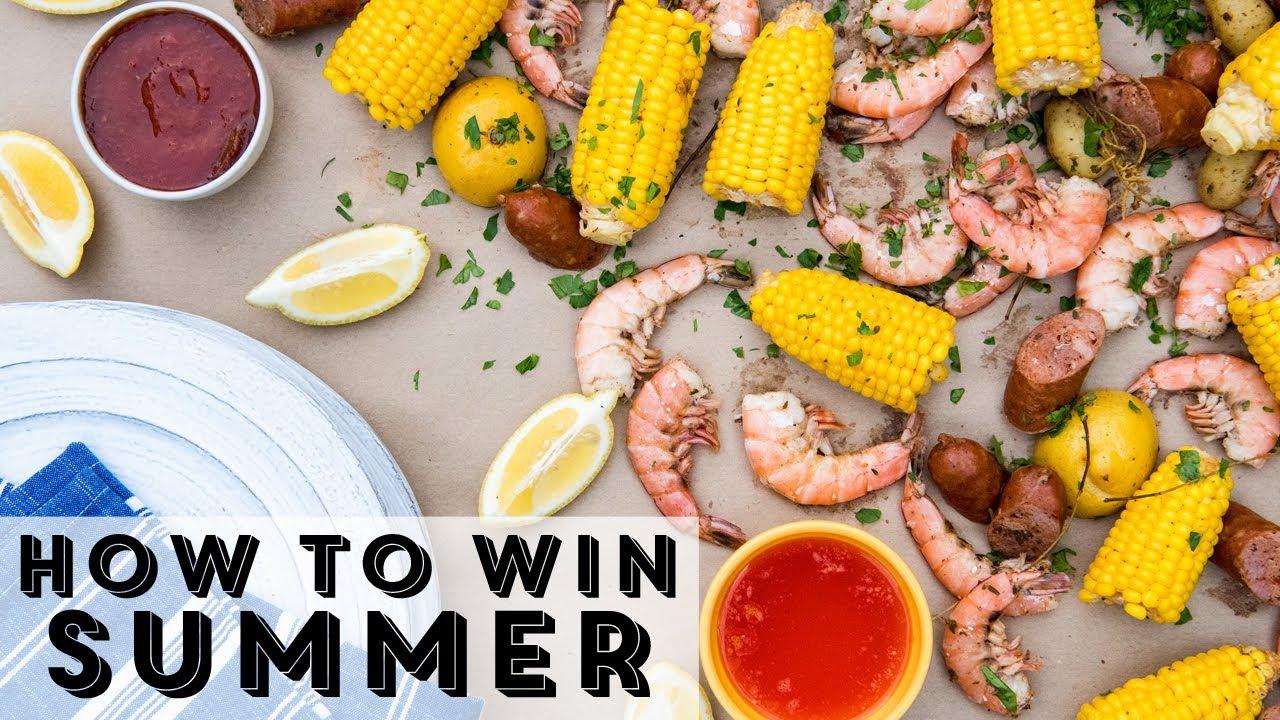 How To Win Summer: Shrimp Boil Cooler Hack  Foodwork