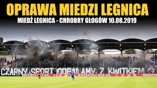 """""""CZARNY SPORT ODPALAMY Z KWITKIEM"""" - Miedź Legnica – Chrobry Głogów 10.08.2019"""