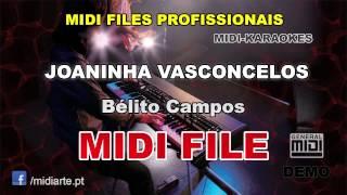 ♬ Midi file  - JOANINHA VASCONCELOS - Bélito Campos