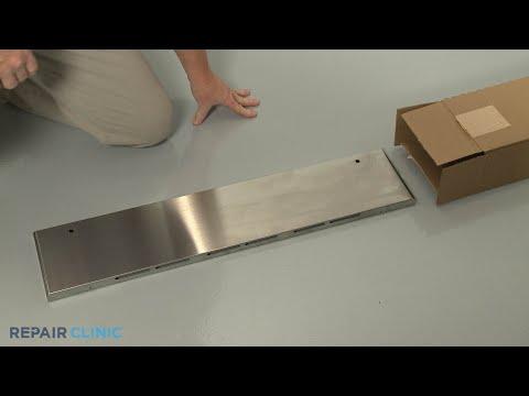 KitchenAid Convection Gas Range Drawer Front Replacement - Model #KSGB900ESS1