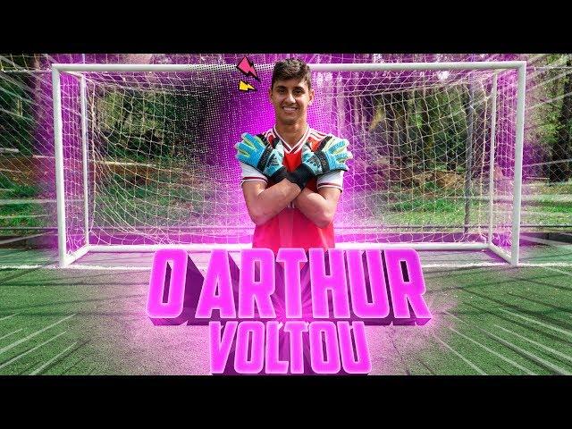O ARTHUR GOLEIRO VOLTOU?!
