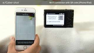 connect iPhone QR