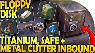 TITANIUM + METAL CUTTER + SAFE INBOUND - FLOPPY DISK FUN! - Last Day On Earth Survival Update 1.9.4