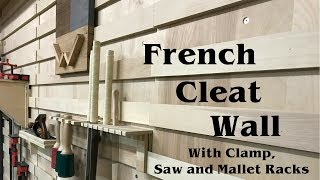 French Cleat Tool Wall How To Build | Woodworking Shop Organization