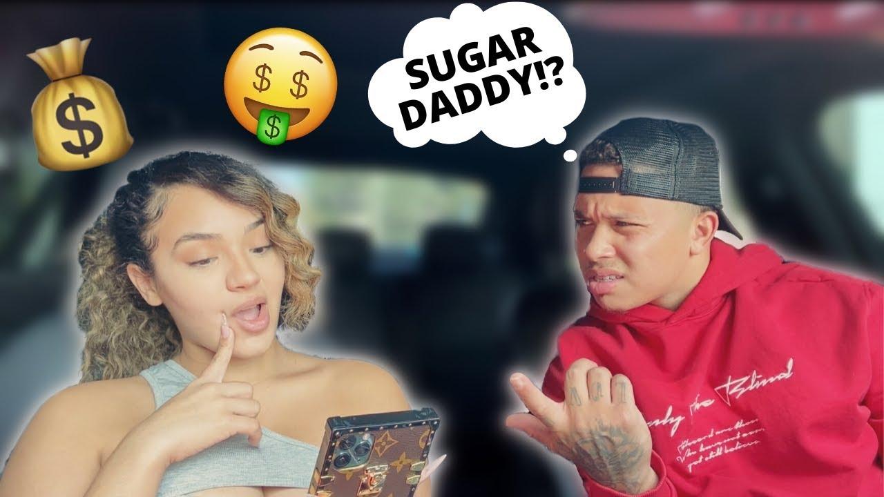 Baby with boyfriend sugar College students
