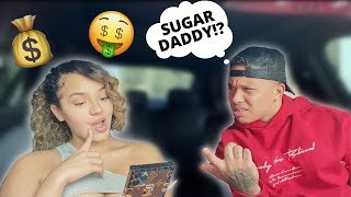TELLING MY BOYFRIEND I HAVE A SUGAR DADDY! ** HE GETS HEATED **