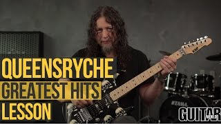 Michael Wilton from Queensryche came by the Guitar World studios to...