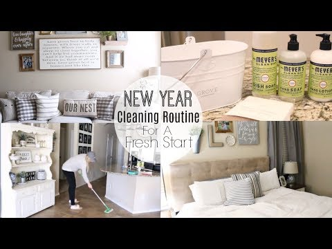 NEW YEAR CLEANING ROUTINE   PURGING AND DECLUTTER MOTIVATION