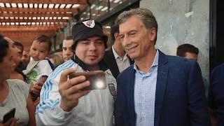 El presidente Mauricio Macri visitó el Centro Recreativo Nacional, en Ezeiza