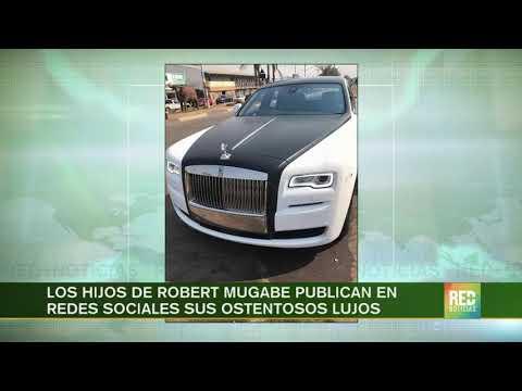 RED+   Los hijos de Robert Mugabe publican en redes sociales sus ostentosos lujos