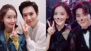 SNSD YOONA and EXO SUHO best friend and So Closer Together