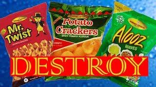 Destroy all kind of chips