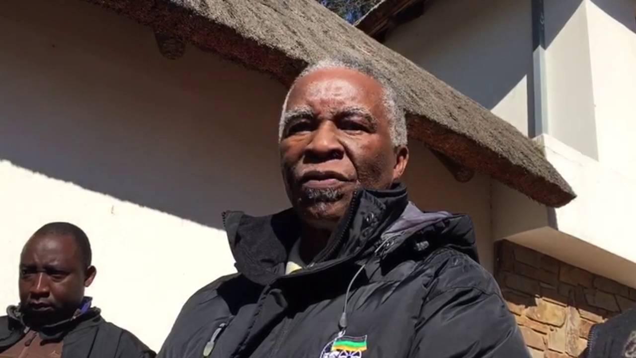 ANC pays 'n visit to Thabo Mbeki