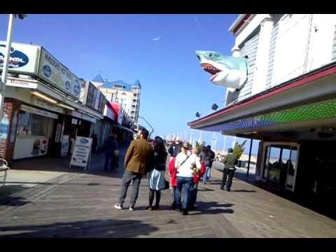 Ocean City Boardwalk - Ocean City Maryland Beach Party