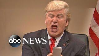 Donald Trump, Alec Baldwin Tweet Over Continuing 'SNL' Skits