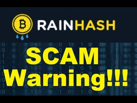RainHash Review - Is Rain Hash an Illegal ICO SCAM?? (Alert)