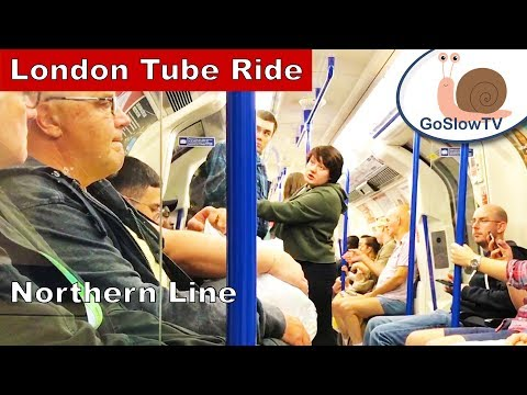London Underground Tube | Leicester Square to London Bridge | Northern Line | Slow TV | Episode 28