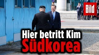 Handschlag der Hoffnung: Kim Jong-Un zu Friedensgesprächen in Südkorea