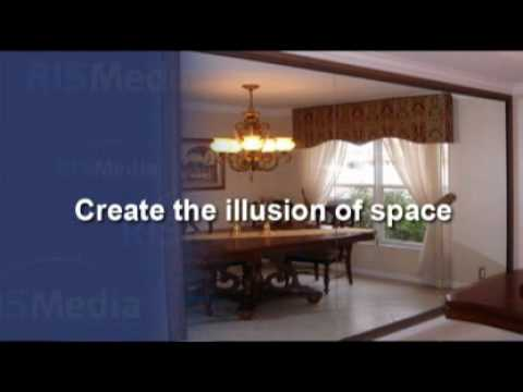 ways to make a small room look larger youtube