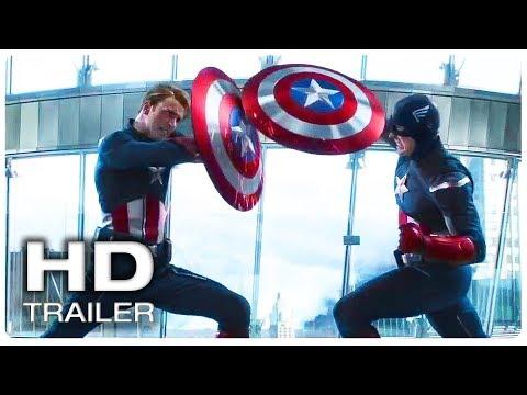 AVENGERS 4 ENDGAME Captain America Vs Himself Fight Trailer (NEW 2019) Marvel Superhero Movie HD