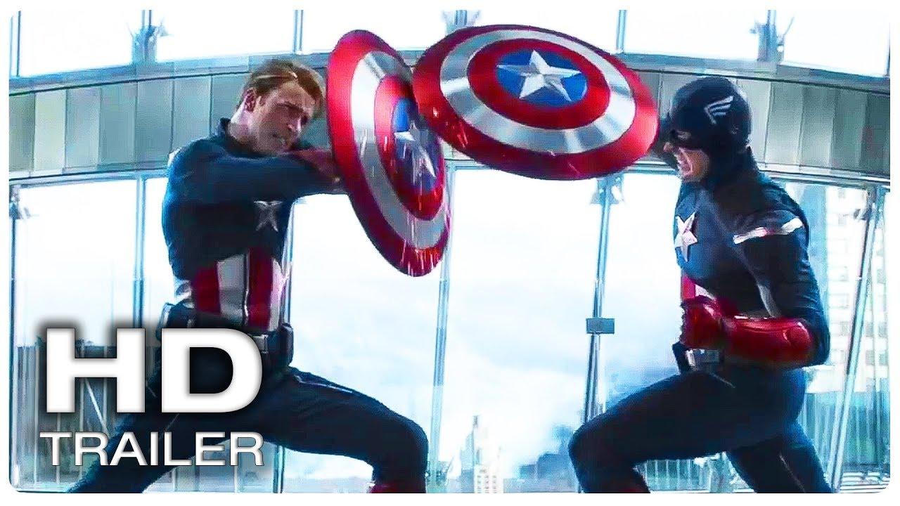 Avengers 4 Endgame Captain America Vs Himself Fight Trailer New 2019 Marvel Superhero Movie Hd