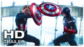 AVENGERS 4 ENDGAME Captain America Vs Himself Fight Trailer (NEW 2019) Marvel Superhero Movie HD