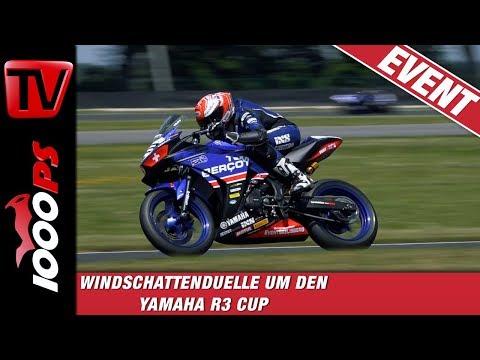 Windschattenduelle um jeden Zentimeter! Yamaha R3 Cup am Slovakiaring