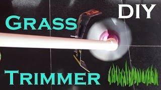 Make Garden Grass/Weed Trimming Machine At Home Easy Way DIY Cutter