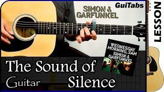 GuiTabs → Cómo tocar The Sound of Silence de Simon & Garfunkel ♫ Cl...