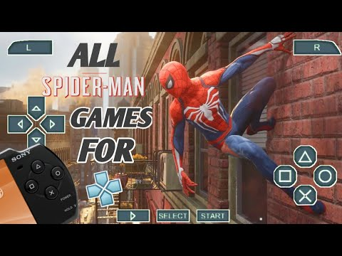 All Spiderman Games For PPSSPP Android/ios |Marvel Spiderman On PPSSPP Android | Reality |