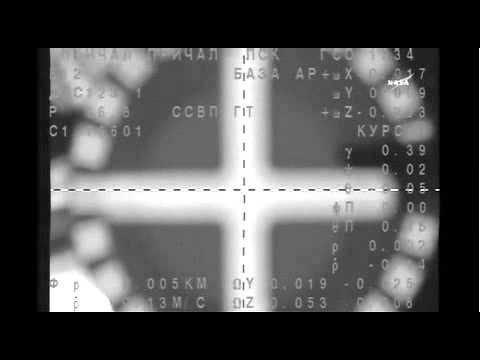 ISS Expedition 39/40 Soyuz TMA-12M Docking