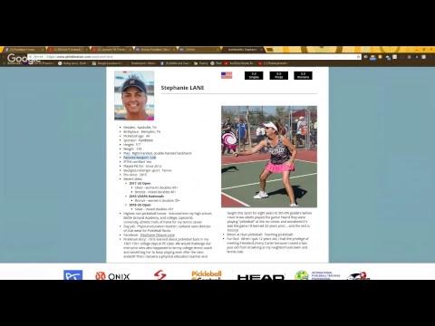 Stephanie Lane Analyzes Game 1 Of Her 5.0 MD GOLD Medal MoKan Pickleball Match
