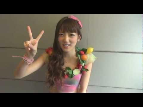 SUPER☆GiRLS 7/4発売「プリプリ♥SUMMERキッス」さおりーぬのコメント。