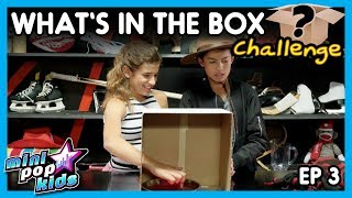 WHAT'S IN THE BOX CHALLENGE: Mini Pop Kids (Episode 3)