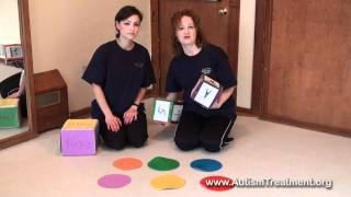 Autism therapy: Game from The Son-Rise Program®- a take on 'Twister'