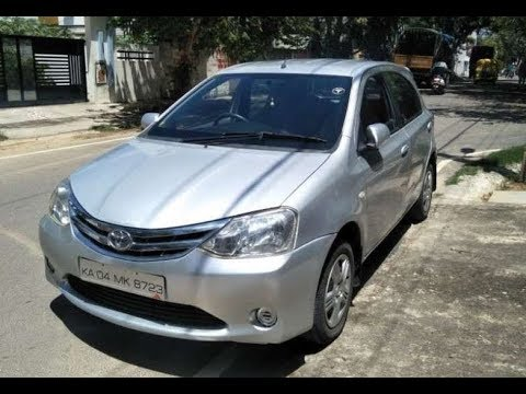 2012 Toyota Etios Gd Diesel Used Car For Sale At Bangalore City