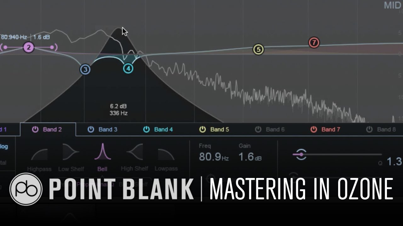 Mastering in iZotope Ozone 6 Part 1: Stereo Width and EQ