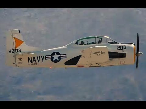 GoPro Take a Flight in a North American T-28B Trojan Palm Sp