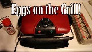 Foreman Grill Recipe: Egg Sandwich Made Easier!
