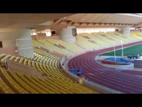Stade Louis II, AS Monaco, Monaco. Stadion Ludwika II, AS Monaco, Monako.