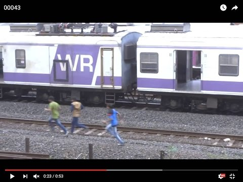 TV Cable Falls on Tracks - Mumbai Local Trains Disrupted on Western Railway!!!