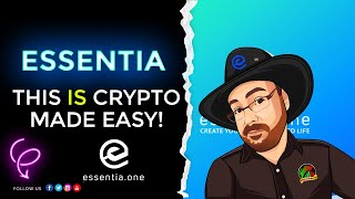 Essentia (ESS) - 750+ Cryptos - Masternodes - This Really is Crypto Made Easy!