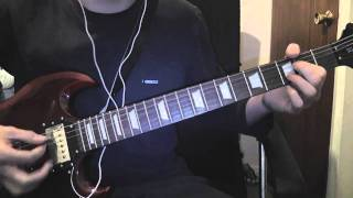 ☠ Airbourne - Too Much, Too Young, Too Fast - Guitar Cover ☠