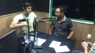 Na radio 94,3 fm com o Zé Arigo grav. Vini produções