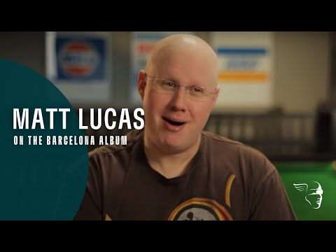Matt Lucas on The Barcelona album (Freddie Mercury, The Great Pretender)