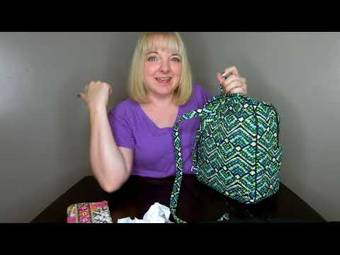 How I would pack my Vera Bradley Purse Backpack