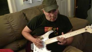 Blues Shuffle with a Backing Track.