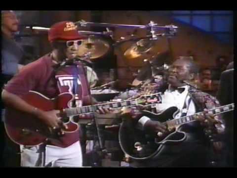 Arsensio Hall Show - Bill Cosby & BB King - Blues Jam Session (circa 2001)